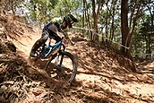 7th September 2017, Smithfield Forest, Cairns, Australia; UCI Mountain Bike World Championships; Monika Hrastnik (SLO)  during downhill practice
