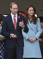 Kate, Duchess of Cambridge & Prince William Visit Valero Pembroke Refinery - UK