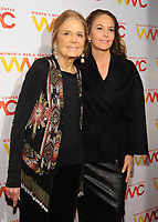 NEW YORK, NY - NOVEMBER 01: Gloria Steinem and Diane Lane attends the 2018 Women's Media Awards at Capitale on November 1, 2018 in New York City.a attends the 2018 Women's Media Awards at Capitale on November 1, 2018 in New York City.  <br /> CAP/MPI/JP<br /> &copy;JP/MPI/Capital Pictures