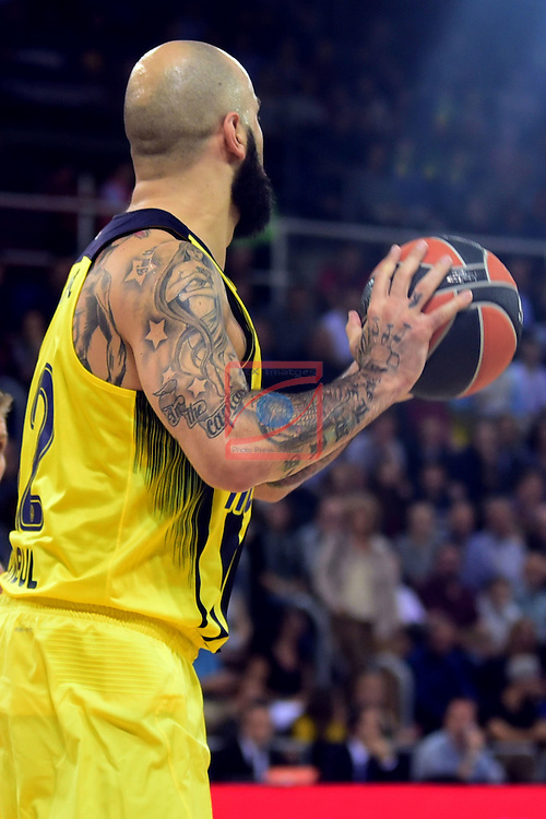 Turkish Airlines Euroleague 2016/2017.<br /> Regular Season - Round 2.<br /> FC Barcelona Lassa vs Fenerbahce Istanbul: 72-73.<br /> Pero Antic.