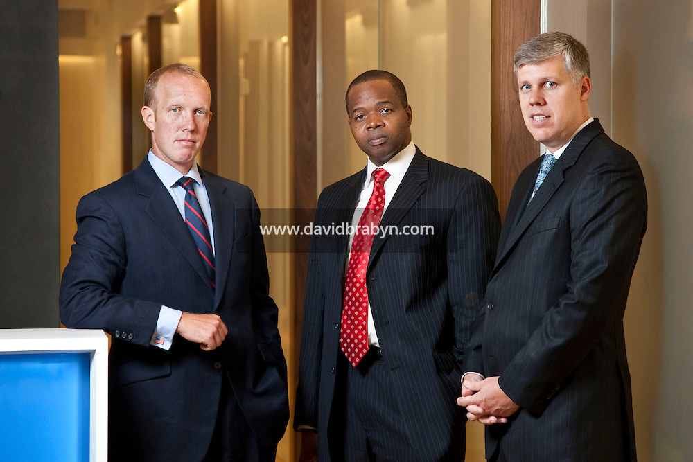 (LtoR) Douglas H. Wigdor, Kenneth P. Thompson and Scott Browning Gilly, attorneys, Thompson Wigdor & Gilly LLP, New York, USA, 7 July 2009.