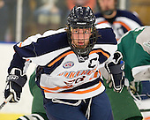 Dan Smolinsky (Salem State - 28) - The visiting Plymouth State University Panthers defeated the Salem State University Vikings 3-2 on Thursday, December 1, 2011, at Rockett Arena in Salem, Massachusetts.