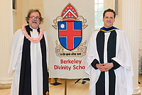 Posed Group Photo. Conferral of Certificates and the Awarding of Prizes Commencement Evensong at the Berkeley Divinity School at Yale 19 May 2018