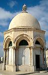 Israel, Jerusalem Old City. A Dome at Haram esh-Sharif&#xA;<br />