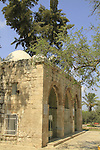 Israel, Southern Coastal Plain, Tomb of Rabbi Gamliel at Sanhedrin Park in Yavne