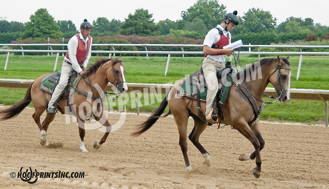 outriders at Delaware Park on 8/19/13