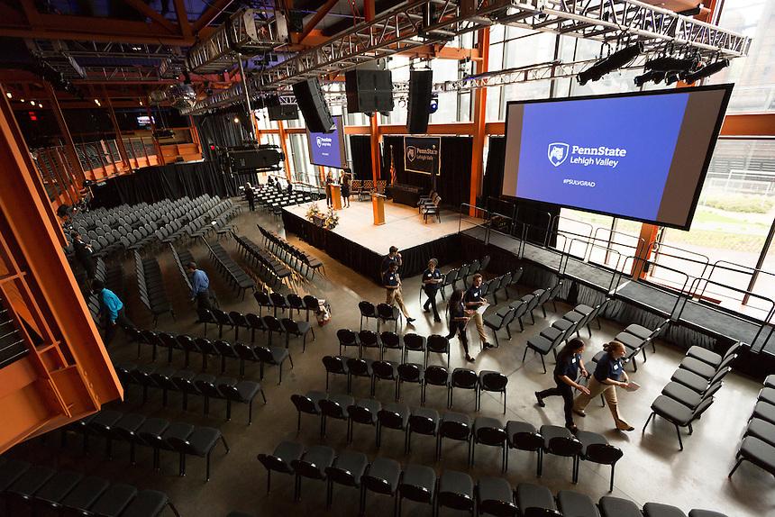 2016_05_07_2016_PSU-LV Commencement. Penn State Lehigh Valley Commencement held 5-07-2016 at Steel Stacks ArtsQuest, Bethlehem, PA<br /> <br /> &copy;2016 Dan Z. Johnson<br /> 267-772-9441<br /> www.danzphoto.net<br /> dan@danzphoto.net