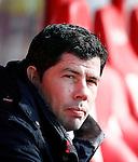 Nederland, Utrecht, 23 februari 2014<br /> Eredivisie<br /> Seizoen 2013-2014<br /> FC Utrecht-FC Groningen<br /> Erwin van de Looi, trainer-coach van FC Groningen.