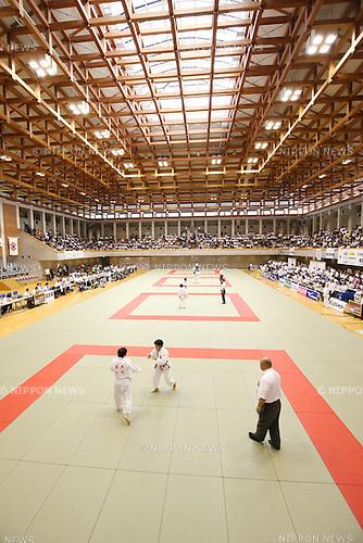 General View of Saitama Kenritsu Budokan,<br /> September 13, 2014 - Judo : <br /> All Japan Juior Judo Championships <br /> at Saitama Kenritsu Budokan, Saitama, Japan. <br /> (Photo by Shingo Ito/AFLO SPORT) [1195]