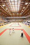 General View of Saitama Kenritsu Budokan,<br /> September 13, 2014 - Judo : <br /> All Japan Juior Judo Championships <br /> at Saitama Kenritsu Budokan, Saitama, Japan. <br /> (Photo by Shingo Ito/AFLO SPORT) [1195]