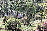 SÃO PAULO, SP, 31.07.2016- CEREJEIRAS-SP - A 38ª Festa das Cerejeiras acontece nos dias 05, 06 e 07 de agosto, no Parque do Carmo bairro de Itaquera região leste da cidade de São Paulo neste domingo, 31.(Foto: Marcos Moraes/Brazil Photo Press)