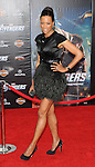 Aisha Tyler at the premiere of Marvel's The Avengers, held at El Capitan Theatre in Hollywood,  CA. April 11, 2012