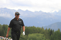 Darren Clarke (NIR) on the 11th on the 1st day of the Omega European Masters, Crans-Sur-Sierre, Crans Montana, Switzerland..Picture: Golffile/Fran Caffrey..