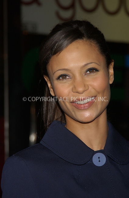 WWW.ACEPIXS.COM . . . . . ....December 2nd, 2006, New York City. ....Thandie Newton attends the 'Pursuit of Happiness' Screening. ....Please byline: KRISTIN CALLAHAN - ACEPIXS.COM.. . . . . . ..Ace Pictures, Inc:  ..(212) 243-8787 or (646) 769 0430..e-mail: info@acepixs.com..web: http://www.acepixs.com