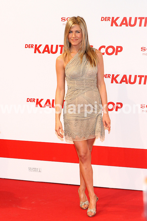 **ALL ROUND PICTURES FROM SOLARPIX.COM**.**SYNDICATION RIGHTS FOR UK AND SPAIN ONLY**.Arrivals for the gala screening of the new film The Bounty Hunter at Cinemaxx in Berlin, Germany. 29 March 2010...This pic: Jennifer Aniston..JOB REF: 11016 CPR  Modjesch     DATE: 29_03_2010.**MUST CREDIT SOLARPIX.COM OR DOUBLE FEE WILL BE CHARGED**.**MUST NOTIFY SOLARPIX OF ONLINE USAGE**.**CALL US ON: +34 952 811 768 or LOW RATE FROM UK 0844 617 7637**