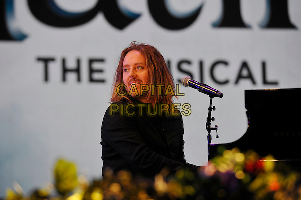 LONDON, ENGLAND - SEPTEMBER 10: Tim Minchin performing at BBC Proms In The Park, Hyde Park on September 10, 2016 in London, England.<br /> CAP/MAR<br /> &copy;MAR/Capital Pictures