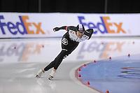SCHAATSEN: SALT LAKE CITY: Utah Olympic Oval, 15-11-2013, Essent ISU World Cup, 1500m, Shane Dobbin (NZL), ©foto Martin de Jong