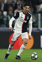 Football Soccer: UEFA Champions League -Group Stage-  Group D - Juventus vs Lokomotiv Moskva, Allianz Stadium. Turin, Italy, October 22, 2019.<br /> Juventus' Cristiano Ronaldo in action during the Uefa Champions League football soccer match between Juventus and Lokomotiv Moskva at Allianz Stadium in Turin, on October 22, 2019.<br /> UPDATE IMAGES PRESS