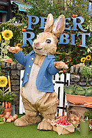 Peter Rabbit character at the &quot;Peter Rabbit&quot; premiere at the Vue West End, Leicester Square, London, UK. <br /> 11 March  2018<br /> Picture: Steve Vas/Featureflash/SilverHub 0208 004 5359 sales@silverhubmedia.com