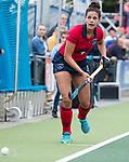 UTRECHT - Macey de Ruiter (Laren)  tijdens de hockey hoofdklasse competitiewedstrijd dames:  Kampong-Laren . COPYRIGHT KOEN SUYK