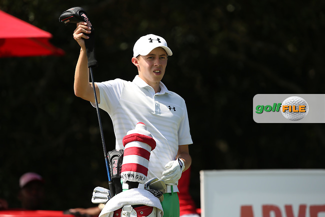 Matthew Fitzpatrick (ENG) on the 9th tee during Round Two of the Africa Open 2015 at the East London Golf Club, East London, Eastern Cape, South Africa. Picture:  David Lloyd / www.golffile.ie. 06/03/2015