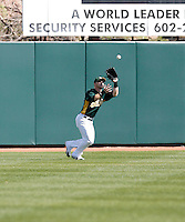 Aaron Cunningham - Oakland Athletics - 2009 spring training.Photo by:  Bill Mitchell/Four Seam Images