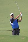 Dubai World Championship Golf. Earth Course,.Jumeirah Golf Estate, Dubai, U.A.E...Padraig Harrington playes his second shot on the 5th during the third round of the Dubai World Golf championship..Photo: Fran Caffrey/www.golffile.ie...