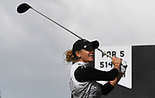 28th September 2017, Windross Farm, Auckland, New Zealand; LPGA McKayson NZ Womens Open, first round;  USA's Amy Olson