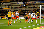 Danny Batth opens the scoring for Wolves with a header - Football - Sky Bet Championship - Wolverhampton Wanderers vs Fulham - Season 2014/15 - 24th February 2015 - Photo Malcolm Couzens/Sportimage