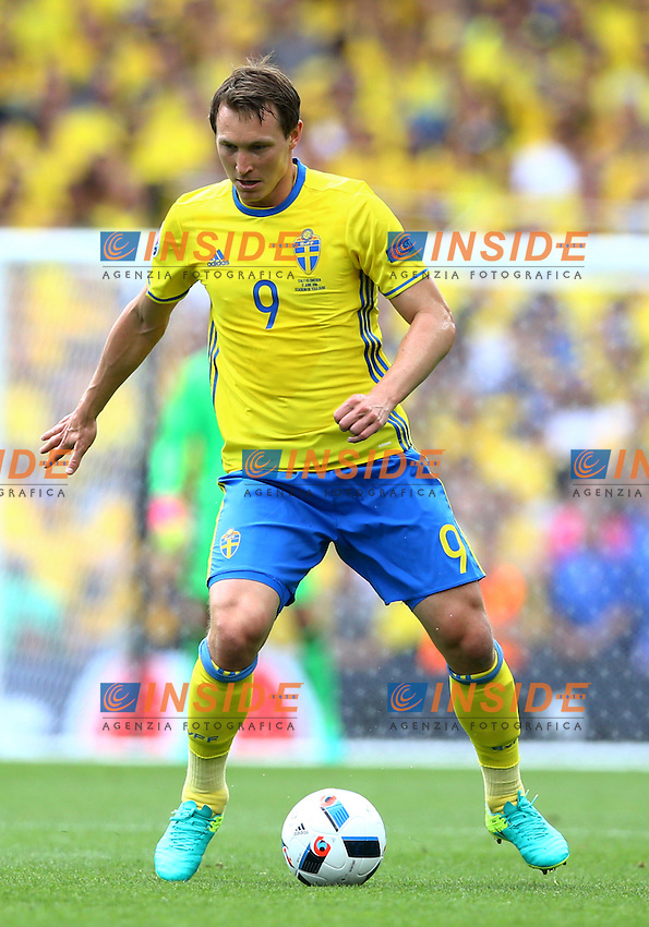 Kim Kallstrom Sweden<br />Toulouse 17-06-2016 Stade Velodrome Footballl Euro2016 Italy - Sweden  / Italia - Svezia Group Stage Group E. Foto Matteo Ciambelli / Insidefoto