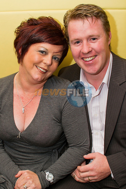 Wendy and Peter Campbell out for a night in Bru to celebrate Wendy's birthday..Picture: Shane Maguire / www.newsfile.ie.