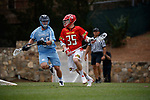 2017 March 25: Jack Wilson #35 of Maryland Terrapins during a 15-7 win over the North Carolina Tar Heels at Fetzer Field in Chapel Hill, NC.