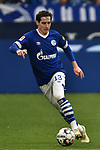 16.03.2019, VELTINS-Arena, Gelsenkirchen, GER, DFL, 1. BL, FC Schalke 04 vs RB Leipzig, DFL regulations prohibit any use of photographs as image sequences and/or quasi-video<br /> <br /> im Bild Sebastian Rudy (#13, FC Schalke 04) Aktion . Einzelbild . Freisteller . mit Ball <br /> <br /> Foto © nph/Mauelshagen