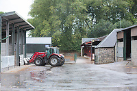 Farm yard in Scotland<br /> &copy;Tim Scrivener Photographer 07850 303986<br /> ....Covering Agriculture In The UK....