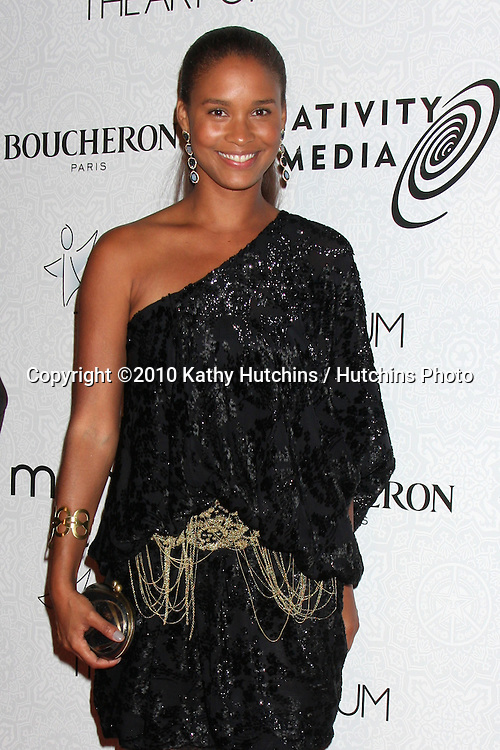 Joy Bryant.arriving at the 3rd Annual Art of Elysium Gala.Rooftop of Parking Garage across from Beverly Hilton Hotel.Beverly Hills, CA.January 16, 2010.©2010 Kathy Hutchins / Hutchins Photo....