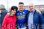 Helen, Ivan and Willie Parker, Fenit after Kerry won the Junior all Ireland in Portlaoise on Saturday.