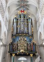 Nederland  Breda  2016. Kerkorgel in de Grote Kerk in Breda. Foto Berlinda van Dam / Hollandse Hoogte