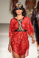 Custo Barcelona<br />  catwalk fashion show at New York Fashion Week<br /> Spring Summer 2018<br /> in New York, USA September 2017.<br /> CAP/GOL<br /> &copy;GOL/Capital Pictures