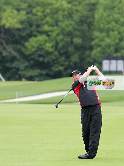Michael Hoey (NIR) on the 9th on Day 4 of the 2012 Nordea Masters at Bro Hof Slott Golf Club, Bro, Sweden....(Photo Jenny Matthews/www.golffile.ie)