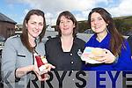 Enjoying Dingle Food festival on Saturday were from left: Nicola Smith (Big Red Kitchen) Debbie Steal (Blas na hEireann) Caoimhe Smith (Detox Retox) .