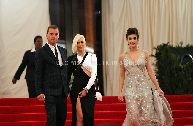 WWW.ACEPIXS.COM....May 6 2013, New York City....Gavin Rossdale, Gwen Stefani, Emmy Rossum leaving the Costume Institute Gala on May 6 2013 in New York City......By Line: Nancy Rivera/ACE Pictures......ACE Pictures, Inc...tel: 646 769 0430..Email: info@acepixs.com..www.acepixs.com