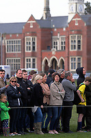 Fans watch the UC Championship 1st XV rugby final between Christchurch Boys' High School and Timaru Boys' High School at Christchurch Boys' High School in Christchurch, New Zealand on Saturday, 26 August 2017. Photo: Dave Lintott / lintottphoto.co.nz