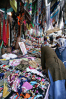 Headscarfs for sale in a market, Istanbul, Turkey