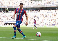 Joel Ward of Crystal Palace during the Premier League match between Tottenham Hotspur and Crystal Palace at Wembley Stadium, London, England on 14 September 2019. Photo by Vince  Mignott / PRiME Media Images.
