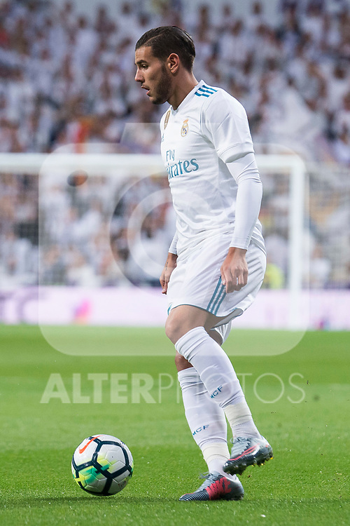 Real Madrid Theo Hernandez during La Liga match between Real Madrid and Eibar at Santiago Bernabeu Stadium in Madrid, Spain. October 22, 2017. (ALTERPHOTOS/Borja B.Hojas)