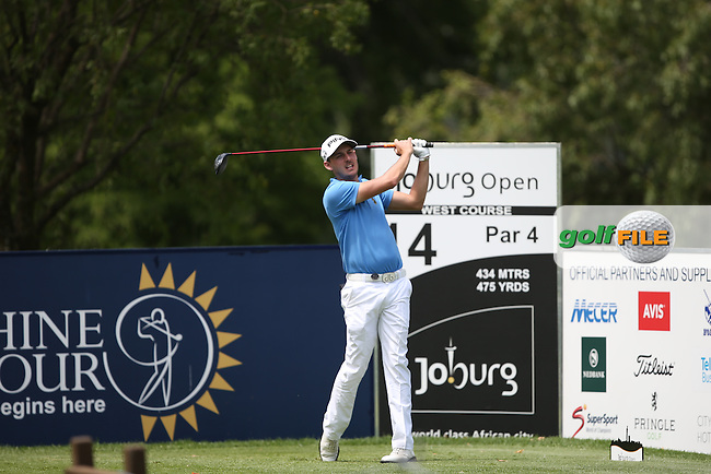 Matthew Nixon (ENG) carded a 68 on the West Course during Round Two of the Joburg Open 2015 at the Royal Johannesburg & Kensington Golf Club, Johannesburg, Gauteng, South Africa. Picture:  David Lloyd / www.golffile.ie. 27/02/2015