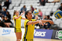Central Manawa&rsquo;s Monalisa Groom during the Beko Netball League - Central Manawa v Southern Blast at ASB Sports Centre, Wellington, New Zealand on Sunday 12 May 2019. <br /> Photo by Masanori Udagawa. <br /> www.photowellington.photoshelter.com