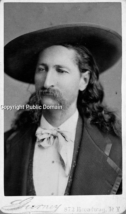 """James B. """"Wild Bill"""" Hickock<br /> <br /> Published ca. 1873"""
