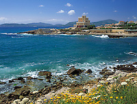 Italy, Sardinia, Alghero: popular resort at the north-west coast