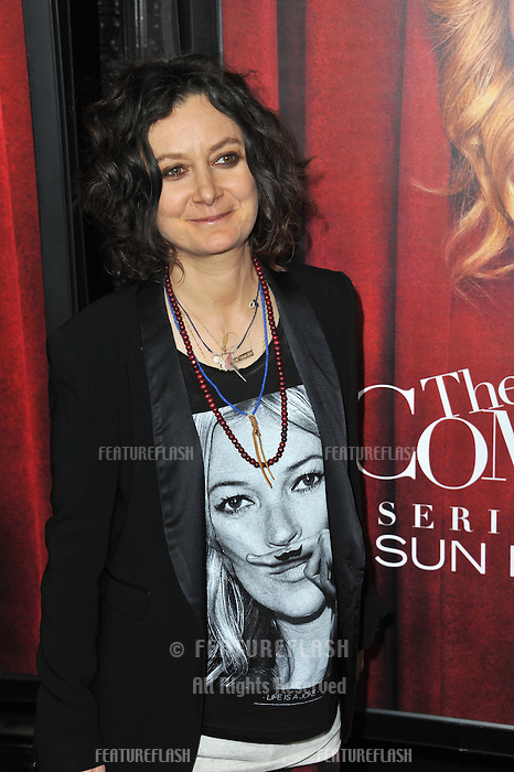 "Sara Gilbert at the premiere of HBO TV series ""The Comeback"" at the El Capitan Theatre, Hollywood.<br /> November 5, 2014  Los Angeles, CA<br /> Picture: Paul Smith / Featureflash"
